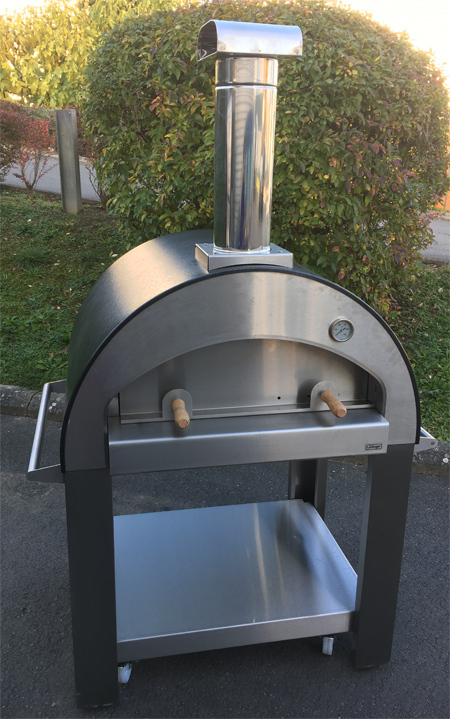 four pizza inox 80 luchinger